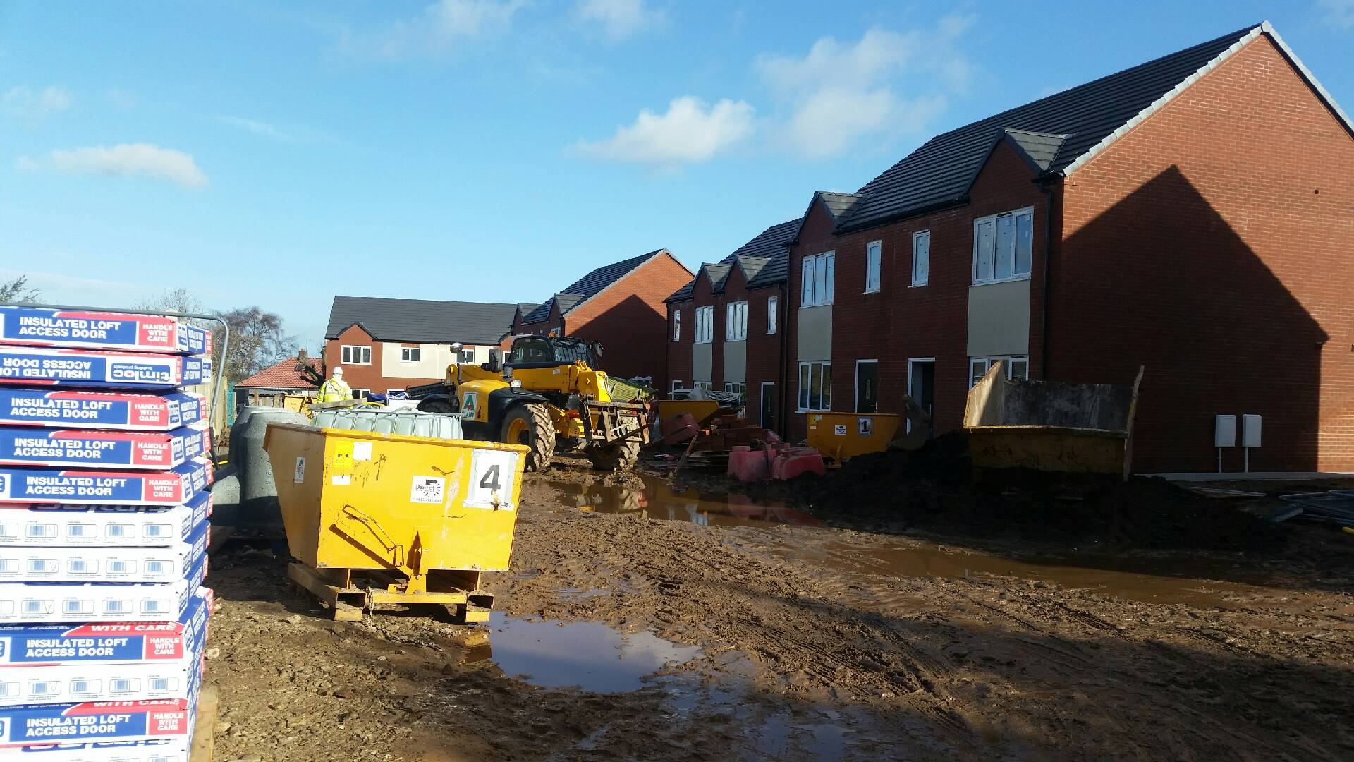 12no New Builds At Pye Avenue Mansfield Fortis
