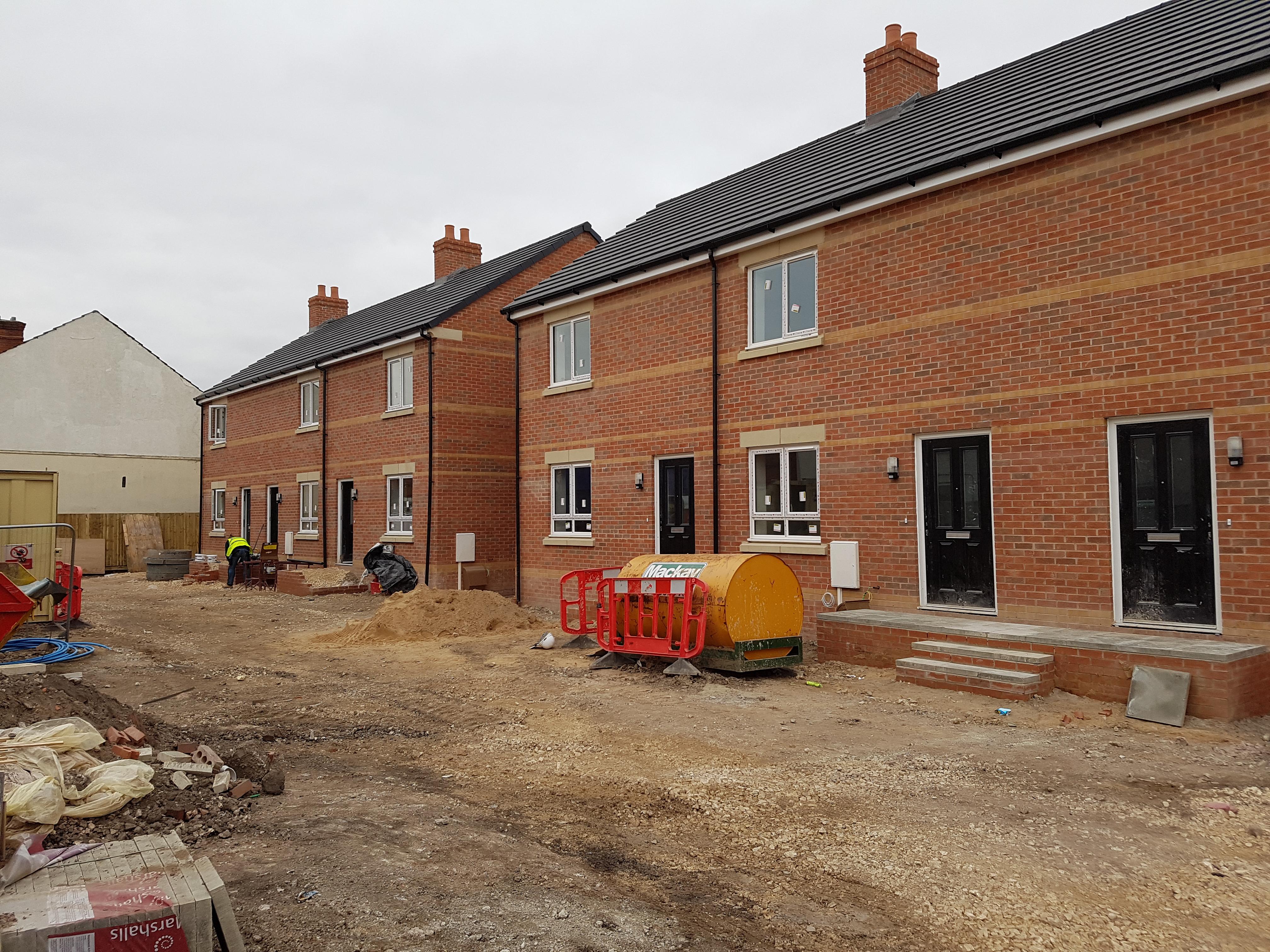 6no New Build Houses Netherfield Nottingham Fortis