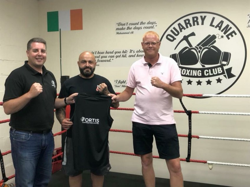 Quarry Lane Boxing Club – Sponsorship
