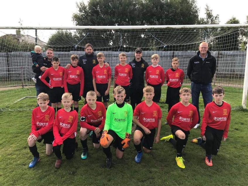 Teversal FC U14's – Sponsorship